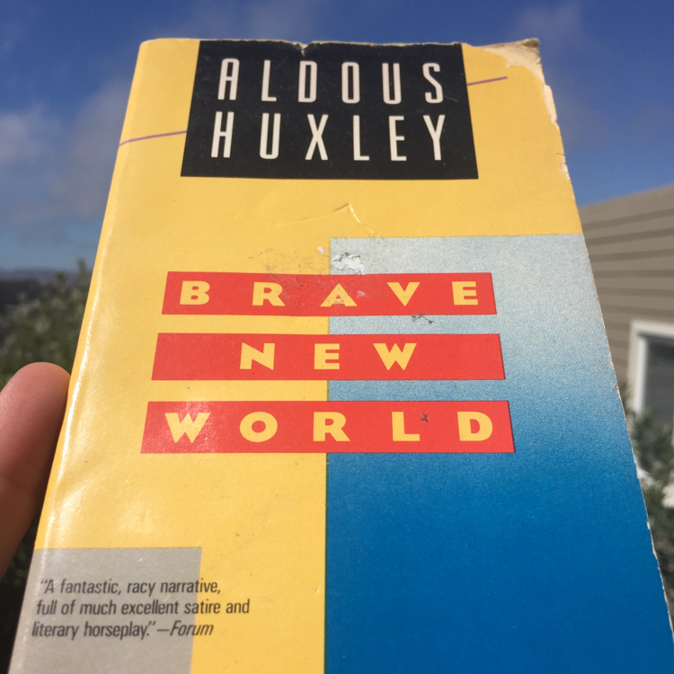 Brave New World, Aldous Huxley. #books