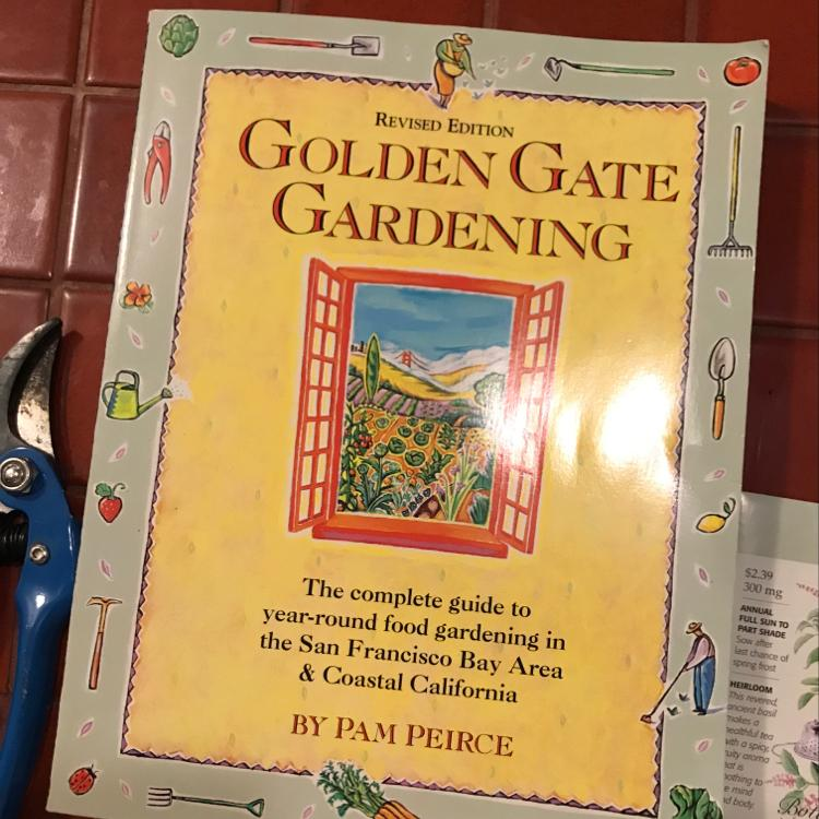 Golden Gate Gardening by Pam Pierce #SFgarden #garden #MeWantFood