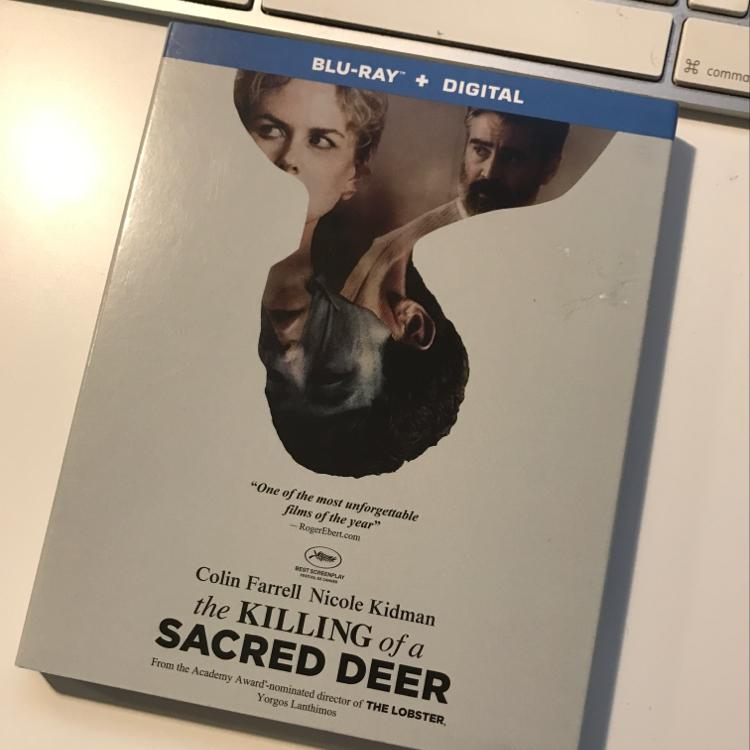 The Killing of a Sacred Deer, dir Yorgos Lanthimos #bluray #film