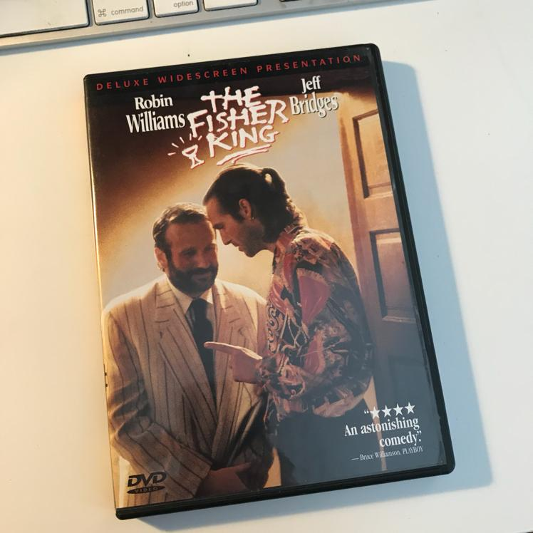 The Fisher King, dir Terry Gilliam #dvd #film #holygrail