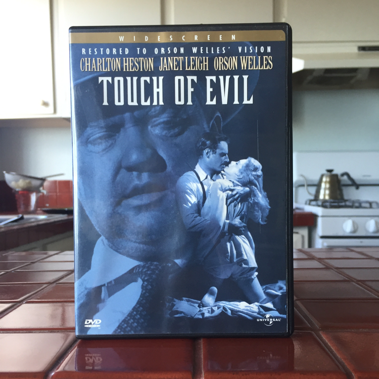 Touch of Evil, Orson Welles. #film #dvd #CharltonHestonMexicant