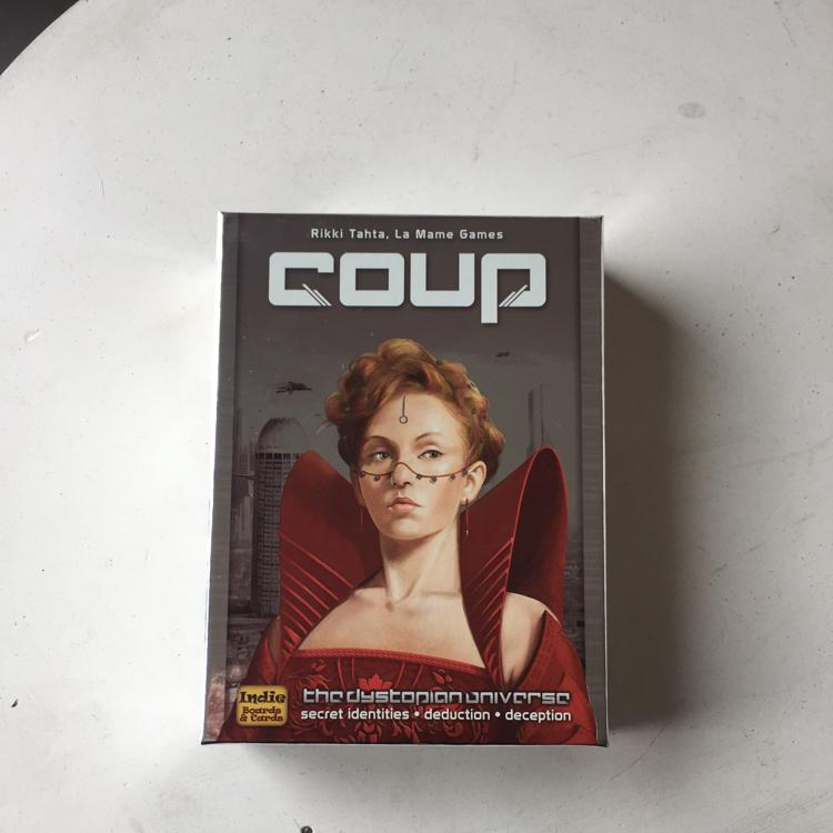 Coup #boardgame