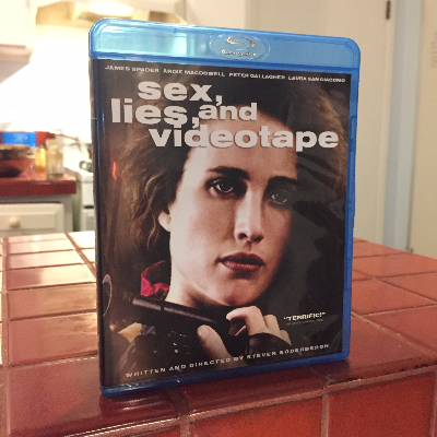 Sex, lies and videotape, dir Steven Soderbergh #bluray