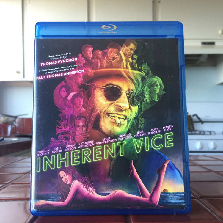 Inherent Vice, PT Anderson. #film #bluray #pynchon