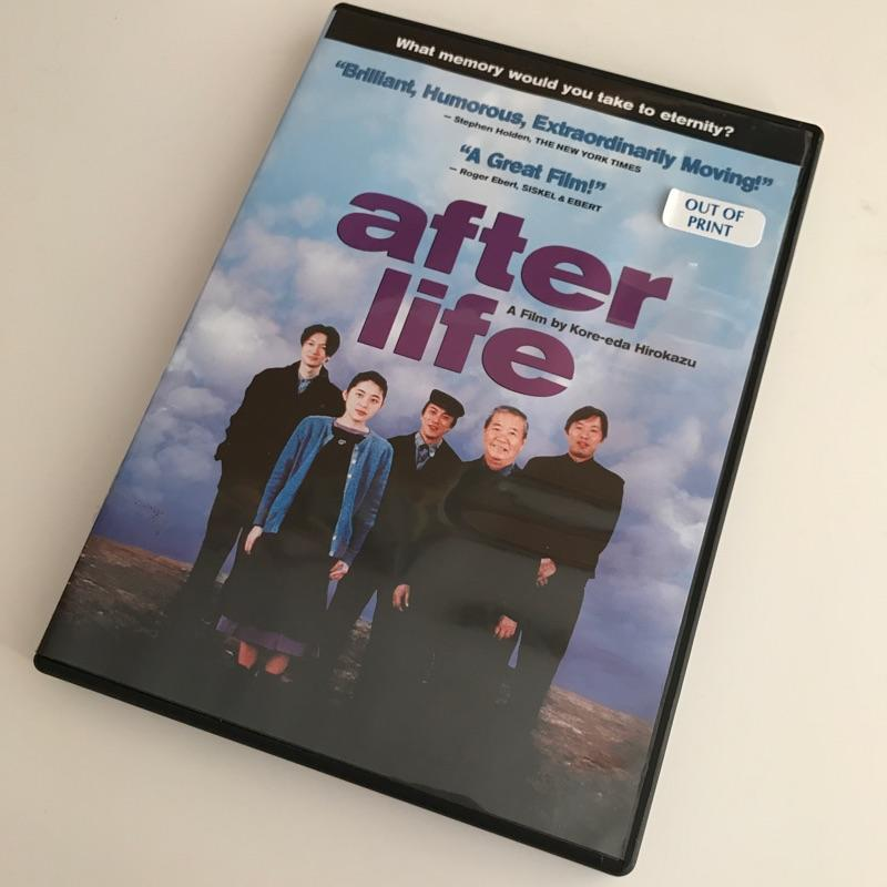 After Life dir Kore-eda Hirokazu #film #dvd