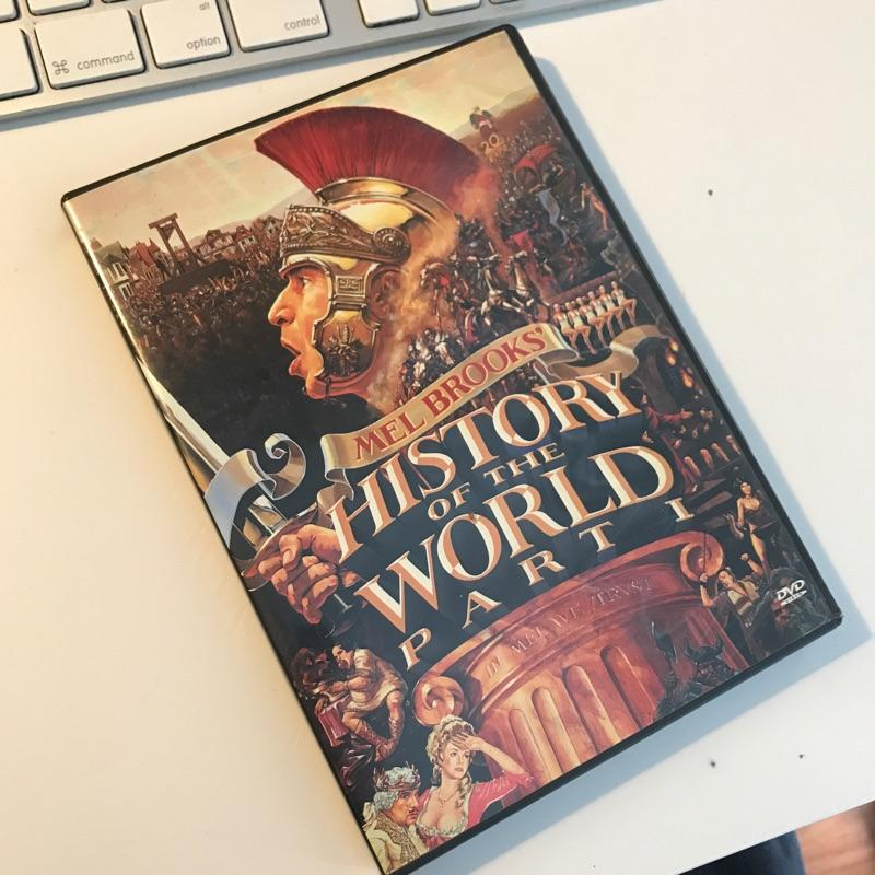 History of the World Part 1, dir Mel Brooks #dvd #film #itsGoodToBeTheKing