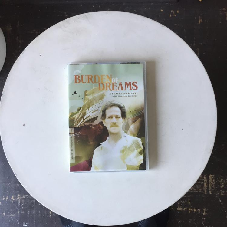 Burden of Dreams, dir Les Blank #dvd #criterion #WernerHerzogEatsHisShoe