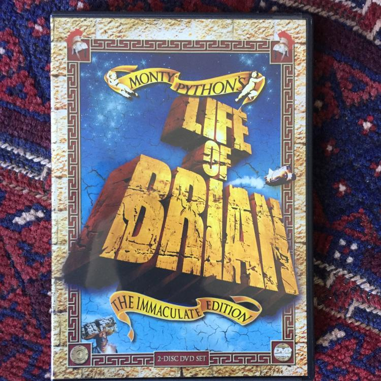 Life of Brian, dir Terry Jones #MontyPython #dvd