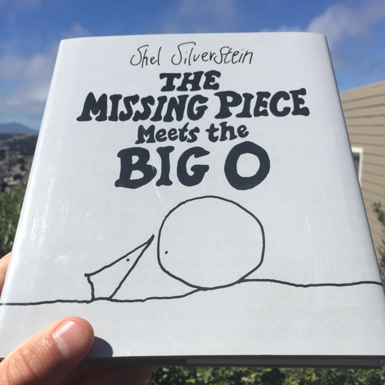 The Missing Piece Meets the Big O, Shel Silverstein. #books #TheSequel