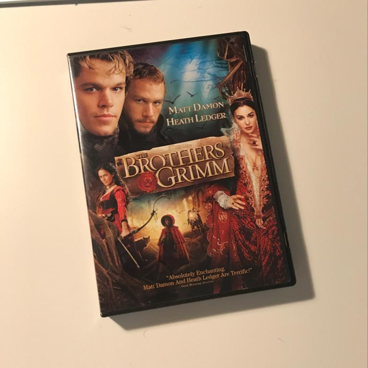 Brothers Grimm, dir Terry Gilliam #film #dvd