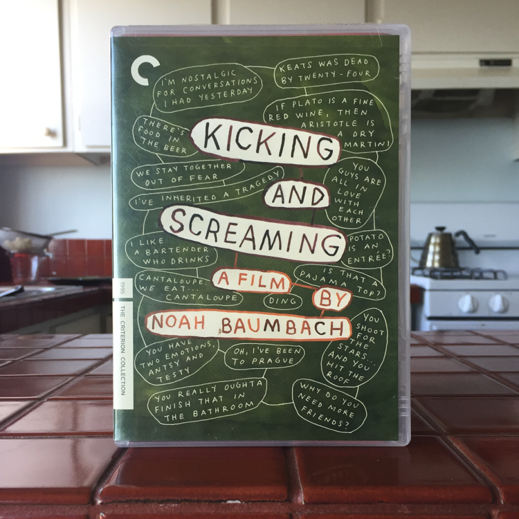 Kicking and Screaming, Noah Baumbach. #film #dvd #criterion