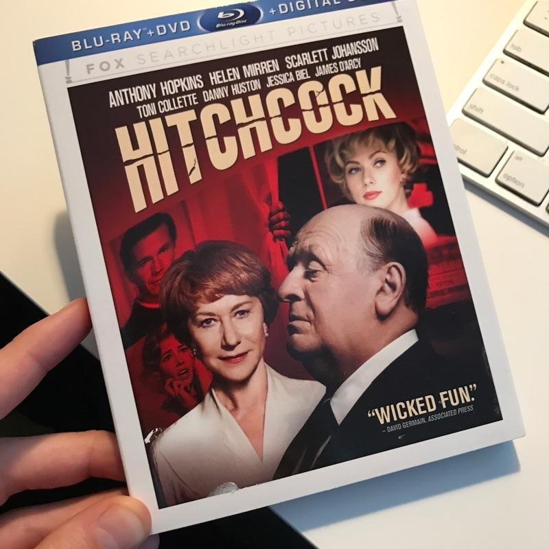 Hitchcock, dir Sacha Gervasi #dvd #film #bluray
