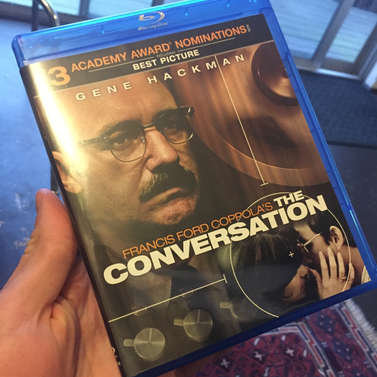 The Conversation, FF Coppola. #bluray #sounddesign