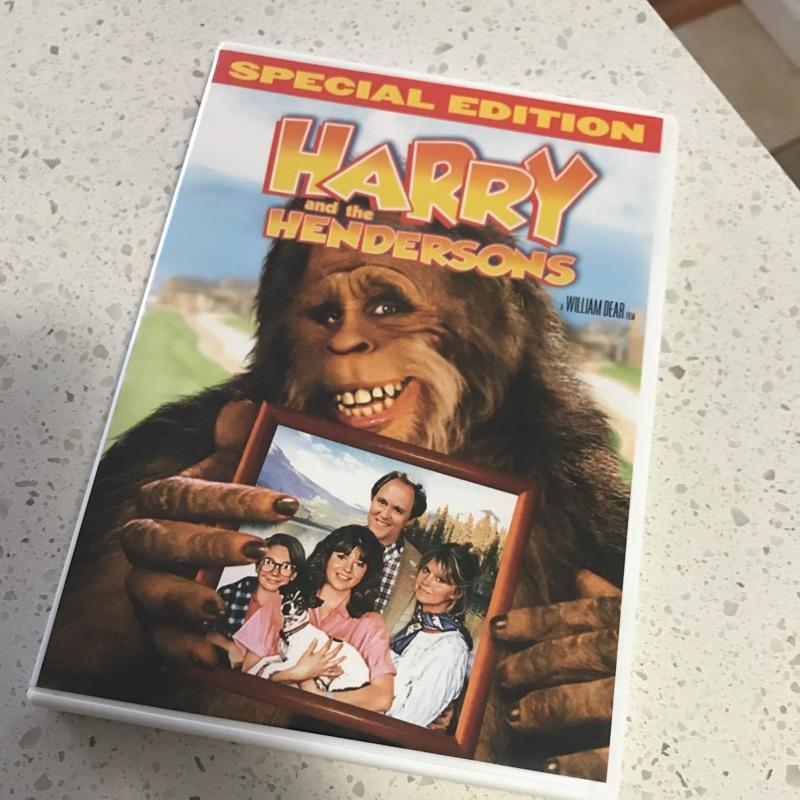 Harry and the Hendersons, dir William Dear #film #dvd