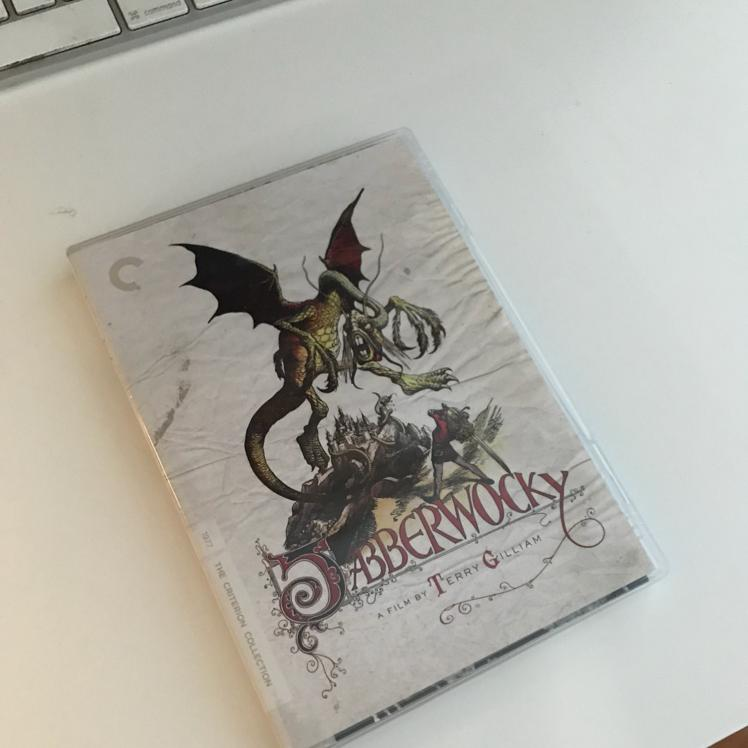 Jabberwocky, dir Terry Gilliam, #film #dvd #criterion