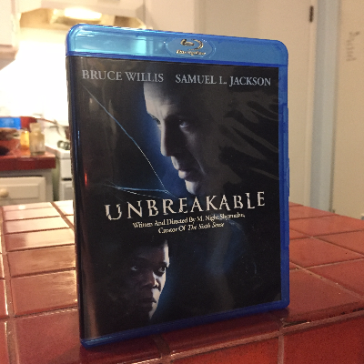 Unbreakable, dir M. Night Shyamalan #bluray