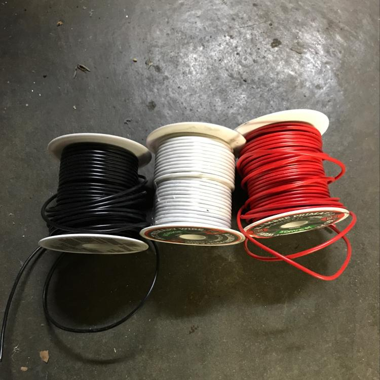 14 gauge electrical primary wire #tools #wire