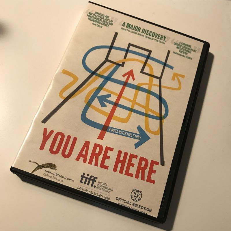 You are here, dir Daniel Cockburn #dvd #film 🔴