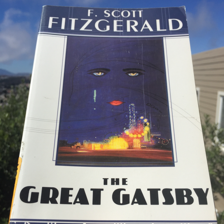 The Great Gatsby, F Scott Fitzgerald #books