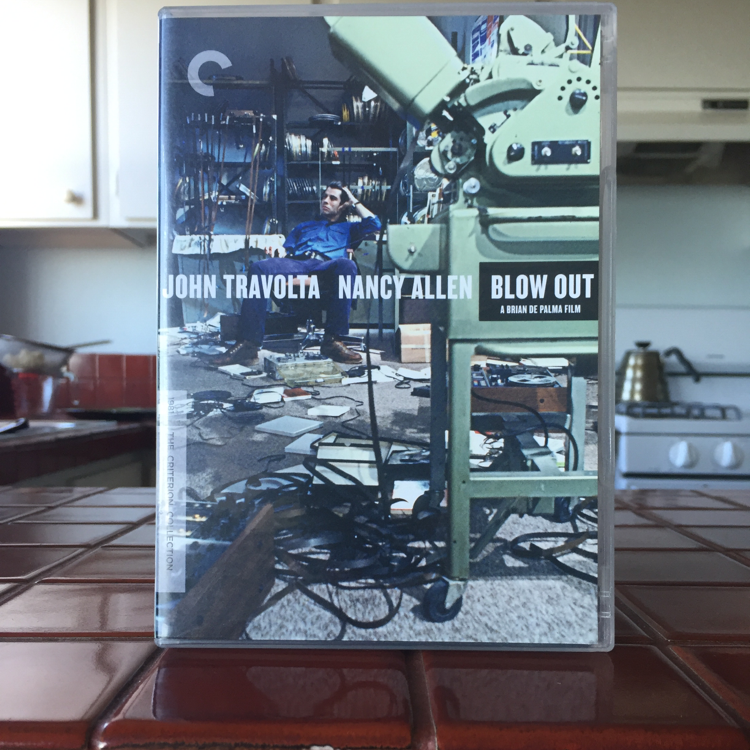 Blow Out, Brian De Palma. #film #dvd #criterion