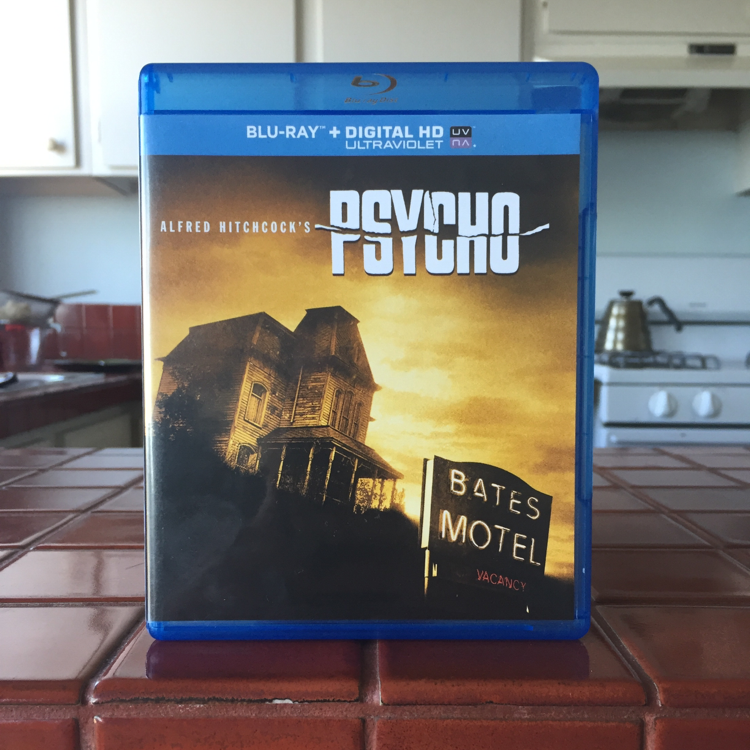Psycho, Alfred Hitchcock. #film #bluray