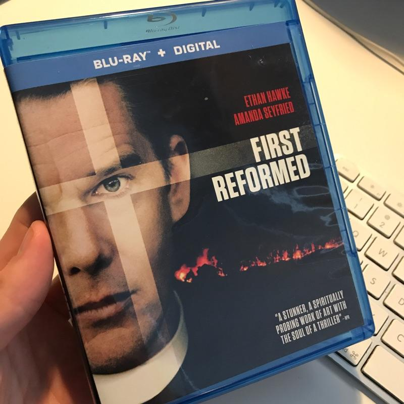 First Reformed dir Paul Schrader #bluray #film