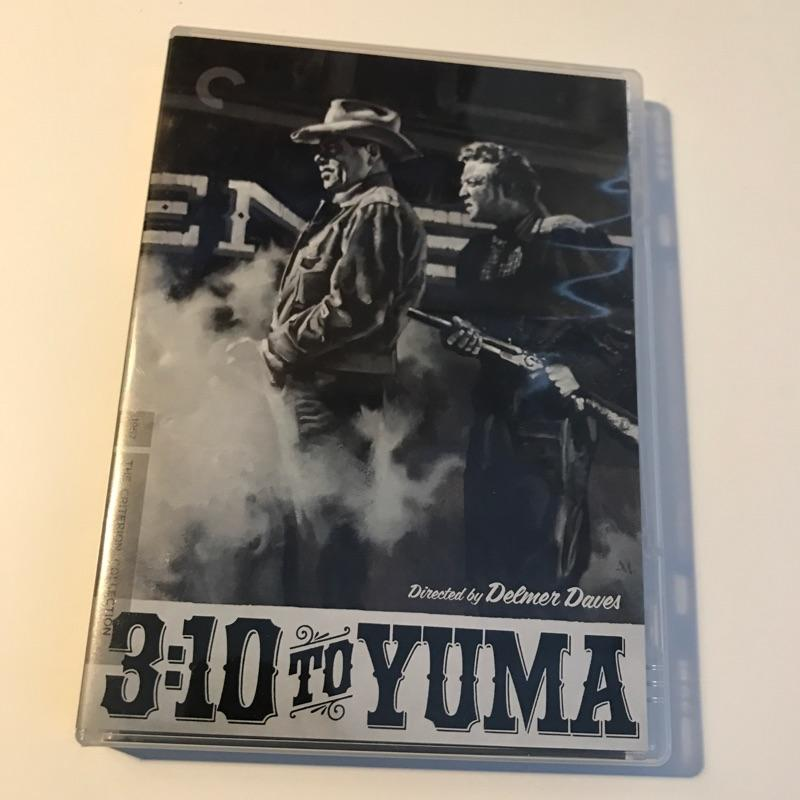3:10 to Yuma, dir Delmer Daves #film #bluray #criterion