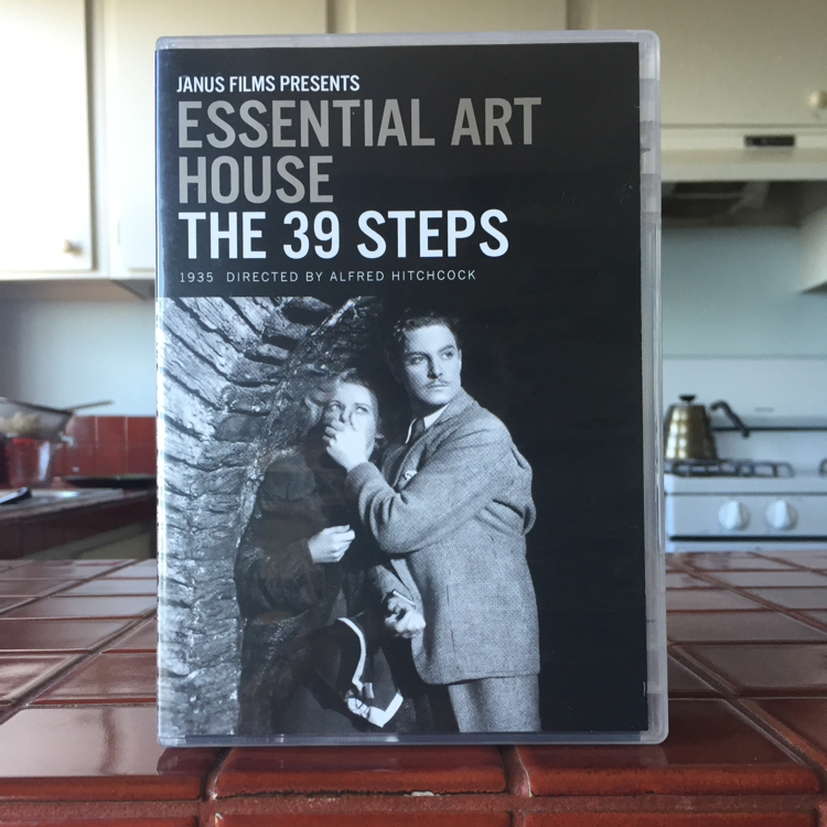The 39 Steps, Alfred Hitchcock. #film #dvd
