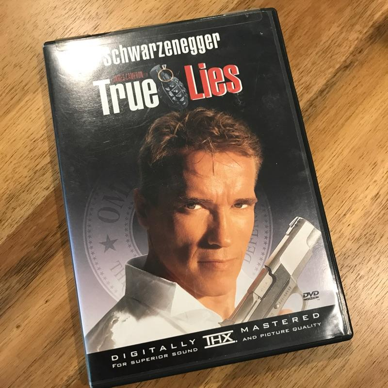 True Lies, dir James Cameron #dvd #film