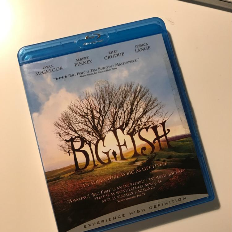 Big Fish, dir Tim Burton #film #bluray #SpectreIsReallyGreat