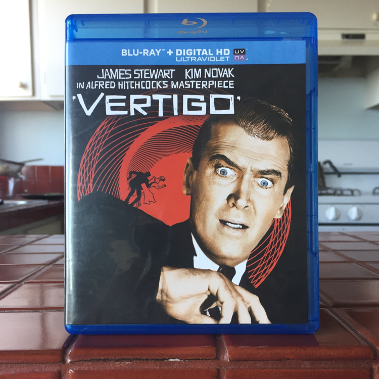 Vertigo, Alfred Hitchcock. #film #sf #bluray