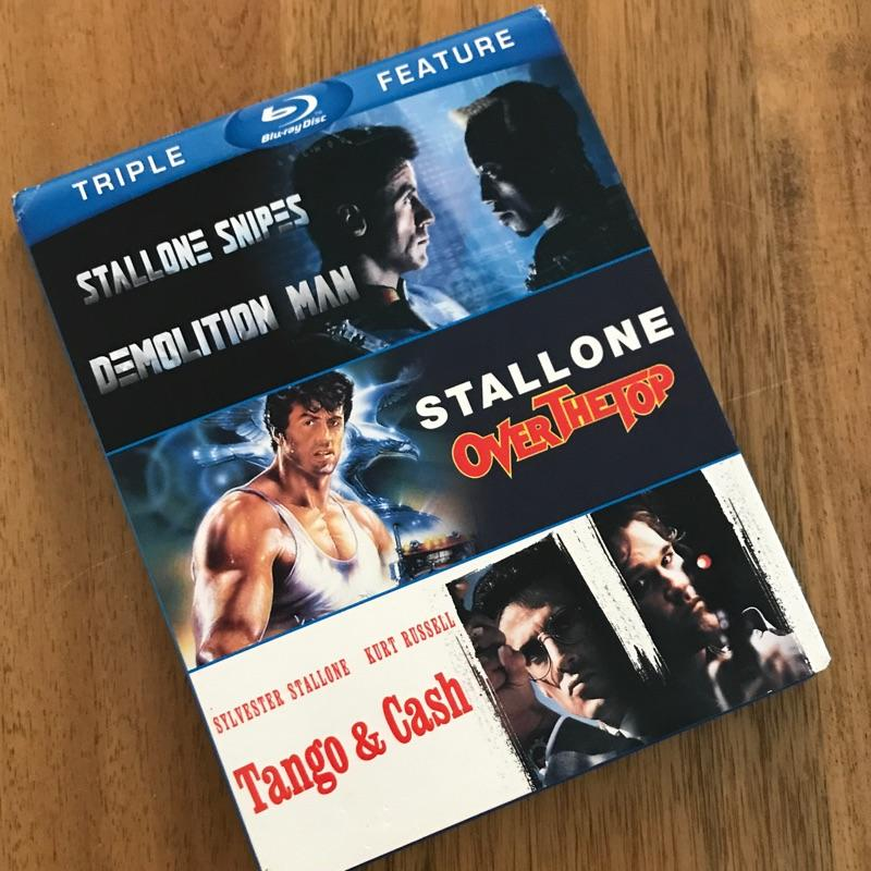 Demolition Man, Over the Top, Tango and Cash — Stalone #film #bluray