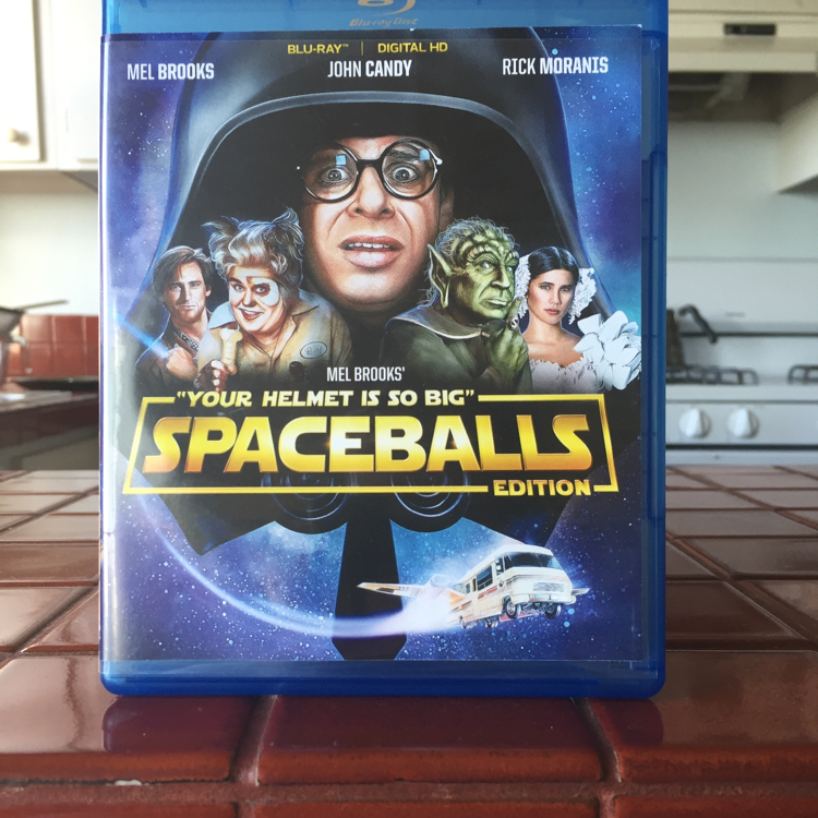 Spaceballs, Mel Brooks. #movie #bluray