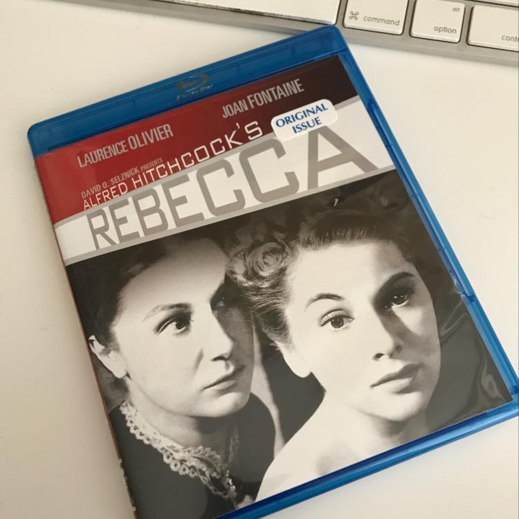 Rebecca, dir Alfred Hitchcock #bluray #film
