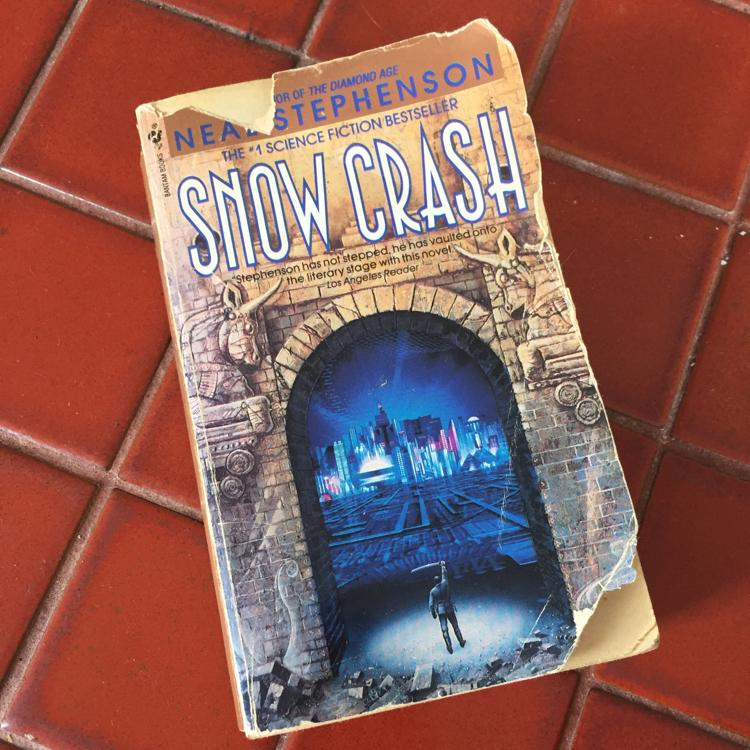 Snow Crash, Neal Stephenson #book #scifi #DoYouWannaCyber