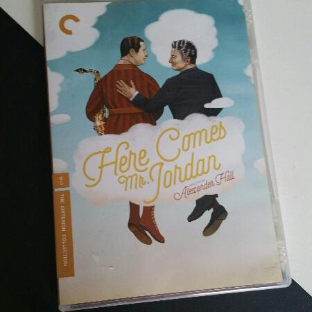 Here comes Mr Jordan, dir Alexander Hall #criterion #dvd