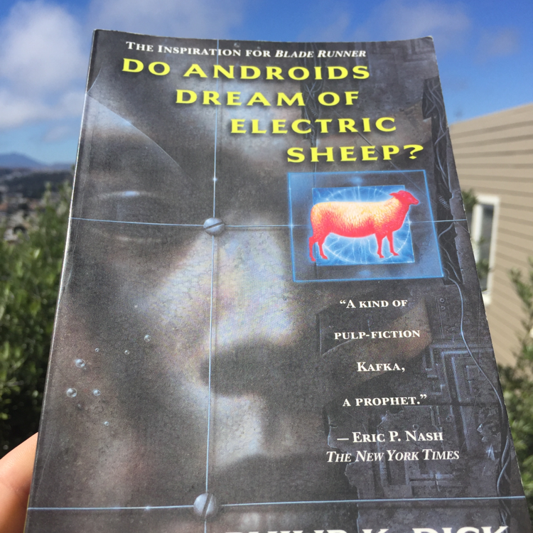 Do Androids Dream of Electric Sheep, Philip K Dick. #books #PKD