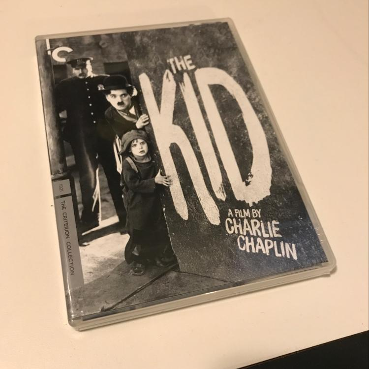 Charming. The Kid, dir Charlie Chaplin #dvd #criterion #silentfilm