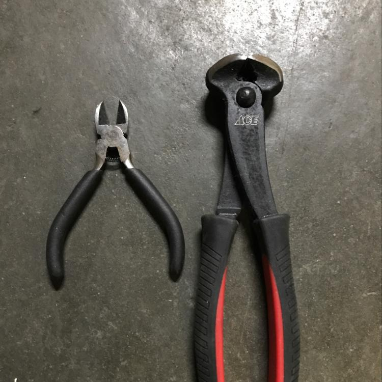 Wire cutters #tools