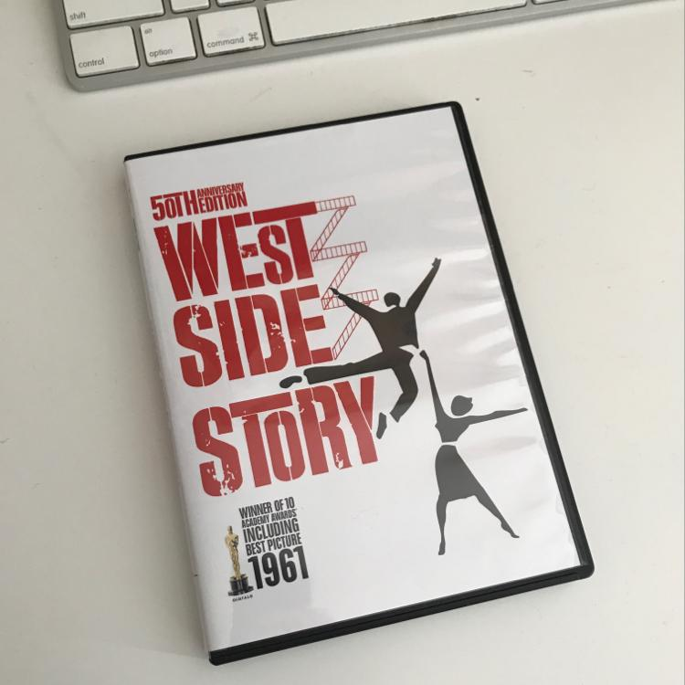 West Side Story, dir Robert Wise, #dvd #film #musical