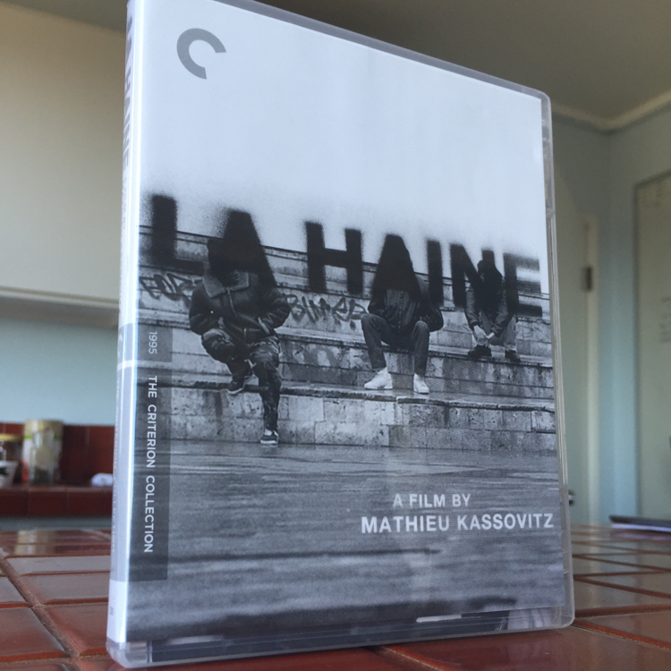 La Haine, Mathieu Kassovitz. #film #bluray
