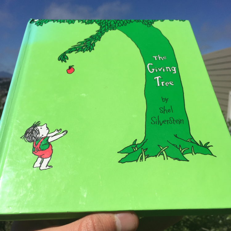 The Giving Tree, Shel Silverstein. #books