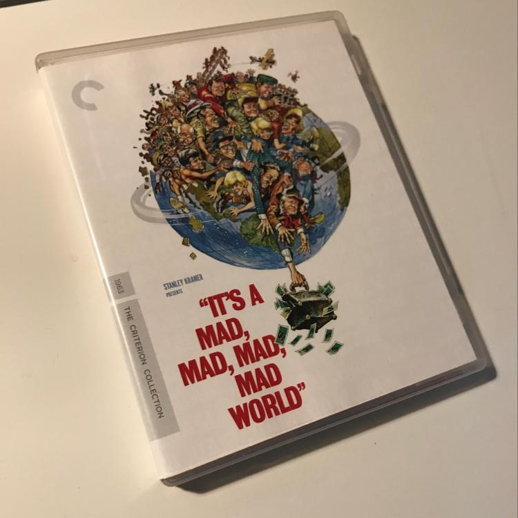 It's a mad, mad, mad, mad world. dir Stanley Kramer #bluray #criterion #film #sylvesteeeeeeeeer