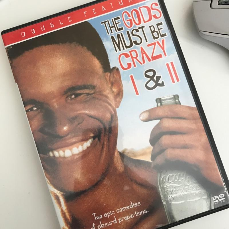 The Gods Must Be Crazy 1 & 2,dir Jamie Uys #film #dvd