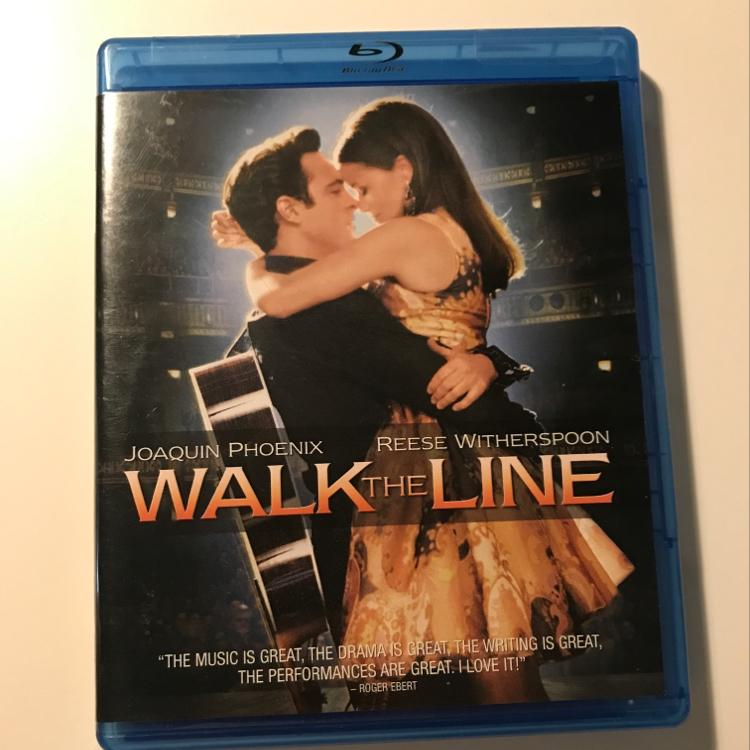 Walk the Line, dir James Mangold #film #bluray #getRhythm #johnnyCash