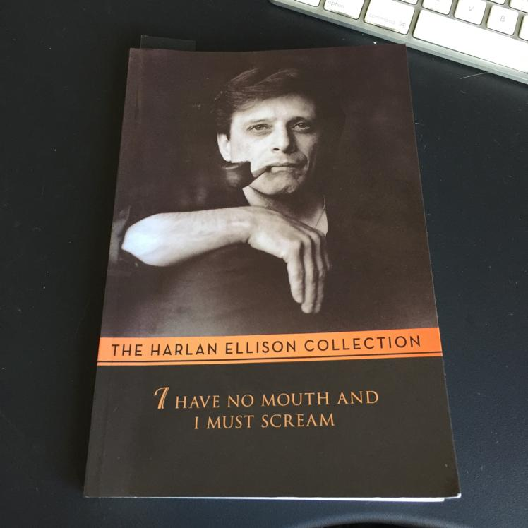 "Harlan Ellison short stories. ""I have no mouth and I must scream"" #books"