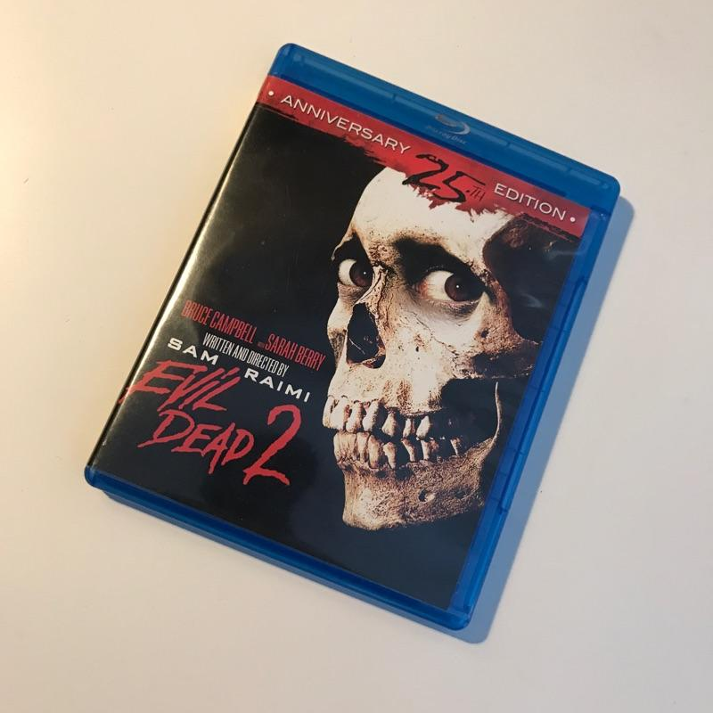 Evil Dead 2, dir Sam Raimi #bluray #film